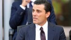 """Milan, Montella: """"Capitano? Mi sono preso tempo per decidere. Donnarumma è cresciuto"""""""